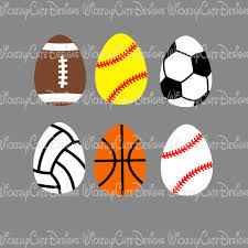 sports easter eggs sports easter eggs svg dxf eps png digital file wickedly