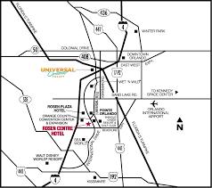 orange county convention center map centre location connected to the orange county convention