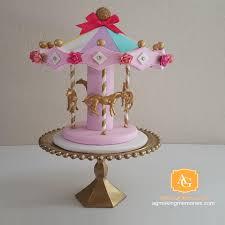 carousel cake topper carousel cake topper centerpiece pink white teal lavender