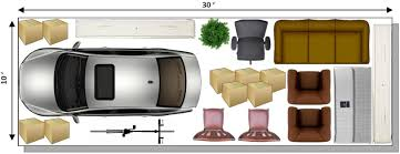 Size Of Single Car Garage Choosing A Unit Size Your Storage Space