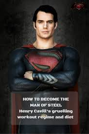 batman superman henry cavill u0027s insane workout regime revealed