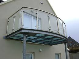 exteriors floating balcony space ideas stainless steel balcony