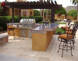 Prefab Outdoor Kitchen Grill Islands Gorgeous Bar Sophisticated Patio Chairs Furnitures And Awesome