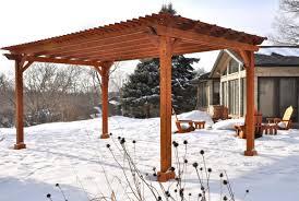 Pergola Post Base by Wonderful Simple Pergola Designs Withh Beautiful Swimming Pool