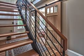 Steel Handrails For Steps Stairs U0026 Rails Dyna
