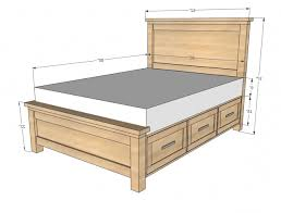 Measurement Of A King Size Bed Full Headboard Dimensions Iemg Info