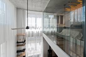 glass wall design scandinavian interior design in a beautiful small apartment