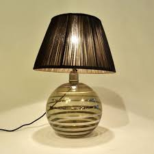 Art Deco Table Lamps Spherical Art Deco Table Lamp