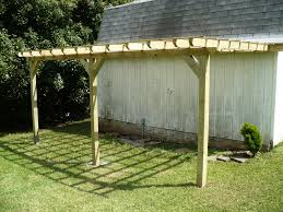 fresh attached pergola designs 19885 attached arched pergola