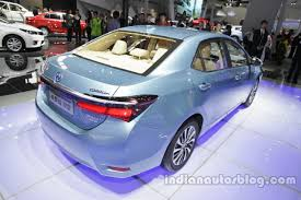 year toyota corolla toyota corolla hybrid to launch in india this year report