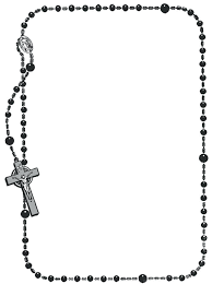 free rosary rosary coloring page pray the rosary decade free catholic rosary