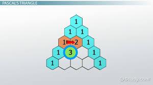 pascal u0027s triangle patterns u0026 history video u0026 lesson transcript
