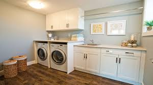 Laundry Room Cabinets With Hanging Rod Best Laundry Room Shelf With Hanging Rod Intended F 20176
