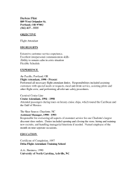 Job Resumes With No Experience by Cover Letter For Cabin Crew 14 Sample Resume Flight Attendant No