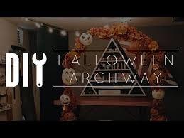 Youtube Halloween Crafts - best 25 diy halloween archway ideas on pinterest halloween