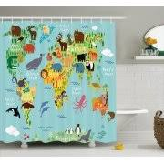 Dinosaur Bathroom Decor by Kids U0027 Shower Curtains Walmart Com