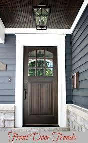 Sapele Exterior Doors Front Door Trends So Chic