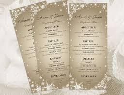 Wedding Menu Template Diy Printable Wedding Menu Template 2410843 Weddbook