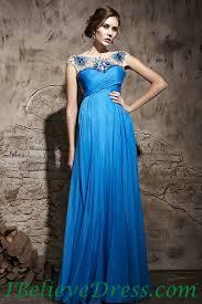 maternity evening dresses chiffon cap sleeves maternity evening dresses blue cheap for sale