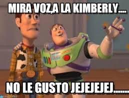 Kimberly Meme - mira voz a la kimberly x x everywhere meme en memegen