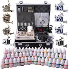 tattoo kit without machine yescomusa rakuten complete tattoo kit 54 color ink 8 machine guns
