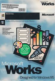 Windows Spreadsheet Tech Flashback Microsoft Works V4 0a For Windows 95 Powerpoint