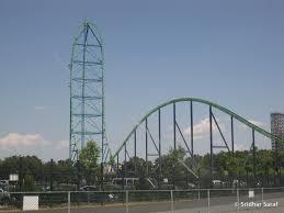 Six Flags Jackson Kingda Ka Six Flags Great Adventure Jackson New Jersey Usa