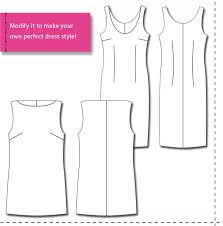 design your own dress design and make your own patterns introducing basic dress slopers