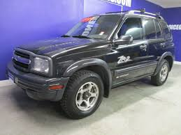 chevy tracker 2001 used chevrolet tracker 4 door 4x4 zr2 good tires automatic at
