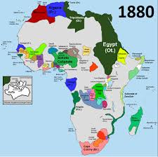 Africa Colonial Map by Africa Before The Scramble For Africa Dexter Robinson