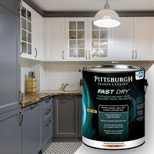 how to paint cabinets fast drying fastdry paint pittsburgh paint color