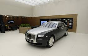 silver rolls royce 2017 rolls royce launched the first two colored ghost
