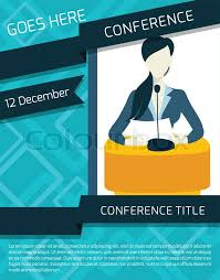 public speaking person politician business speaker with paper and