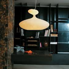 Home Library Lighting Design by E T A Sat Pendant Lamp Kundalini Shop