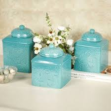 blue kitchen canister sets inspirational turquoise blue kitchen accessories kitchen