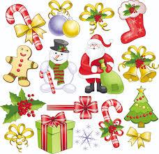 christmas decorations 2 vector free vector 4vector