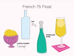 you only need 3 ingredients for these sparkling brunch drinks