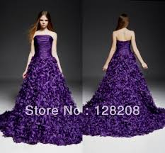 purple wedding dresses 2014 naf dresses
