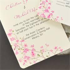 Cherry Blossom Wedding Invitations Cherry Blossom Theme Wedding Invitation Cherry Blossom Theme