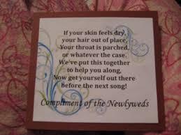 Poem For Wedding Bathroom Basket Wedding Reception Bathroom Basket Poem Ideas House Design