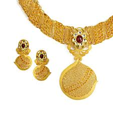 gold ring necklace images Designer 22k gold jewelry raj jewels jpg