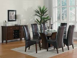 Comfy Dining Room Chairs by Comfortable Dining Room Table Sets Leather Chairs In Minimalist