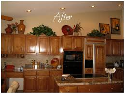 kitchen decorating ideas pictures ideas for decorating above kitchen cabinets cabinet s top 1 kitchen