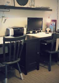 Ikea Desk Hemnes Ikea Hemnes Double Desk Hack Diy Home Projects Pinterest
