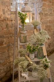 small wooden stairs for rustic country weddings wedding