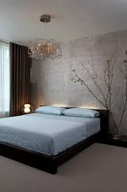 zen inspired bedrooms lighting and minimalism give this contemporary bedroom a