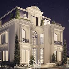 home design exterior architecture design تصميمنا المعماري لقصر خاص في الدوحه قطر