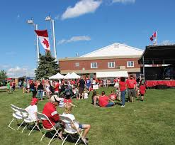 Giant Canadian Flag The Independent Canada 150 A New Parkette Parade And