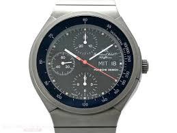 porsche design bracelet iwc mint vintage porsche design chronograph ref 3702 titanium bj