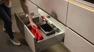 nobilia küche schubladen ausbauen nobilia küchen mülltrennsysteme abfalltrennung